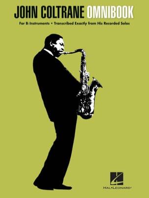 John Coltrane - Omnibook para instrumento Bb - Partition - di-arezzo.es