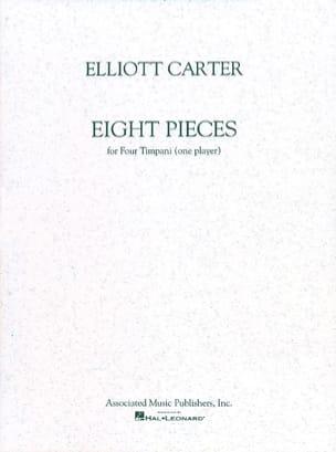 8 Pieces Elliott Carter Partition Timbales - laflutedepan