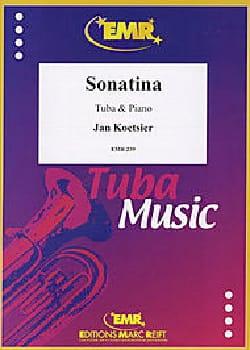 Sonatina, Opus 57 Jan Koetsier Partition Tuba - laflutedepan