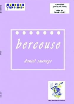 Berceuse Daniel Sauvage Partition laflutedepan