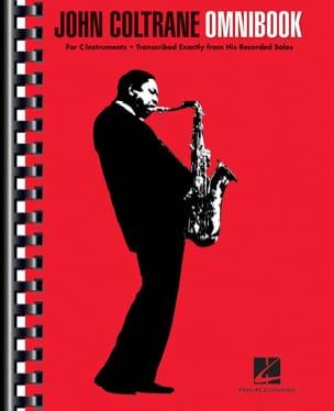 John Coltrane - Omnibook para instrumento en ut - Partition - di-arezzo.es