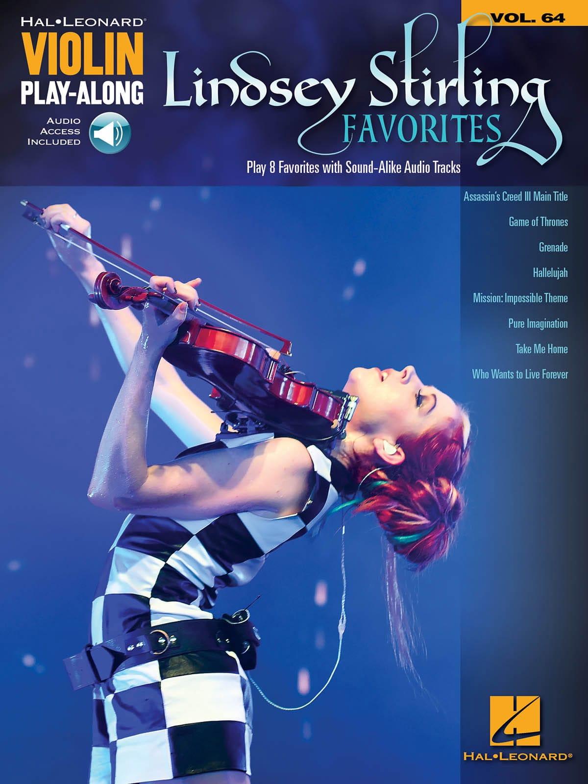 Violin Play-Along Volume 64 - Lindsey Stirling Favorites - laflutedepan.com