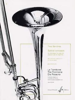 Spécial Syncopes Yves Borderes Partition Trombone - laflutedepan