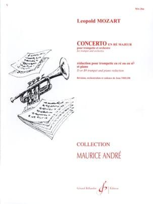 Concerto en ré majeur Leopold Mozart Partition laflutedepan