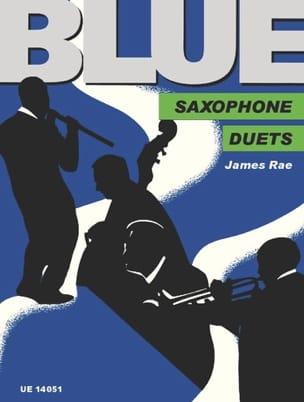 Blue James Rae Partition Saxophone - laflutedepan