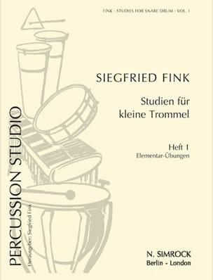 Siegfried Fink - Studies For Snare Trommel Drum Volume 1 - Partition - di-arezzo.co.uk
