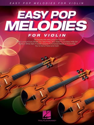 Easy Pop Melodies - Violon Partition Violon - laflutedepan