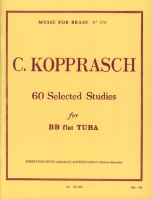 60 Selected Studies Georg Kopprasch Partition Tuba - laflutedepan