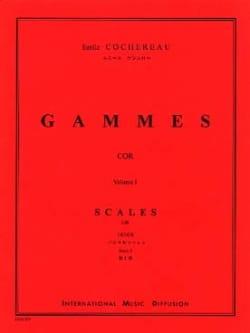 Gammes Volume 1 Emile Cochereau Partition Cor - laflutedepan