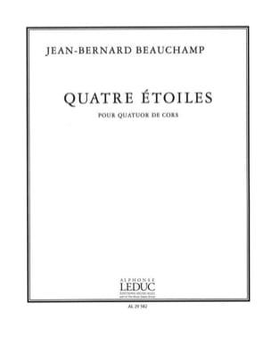 Quatre Etoiles Jean-Bernard Beauchamp Partition Cor - laflutedepan