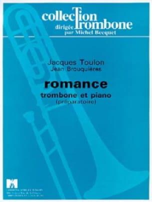 Romance - Jacques Toulon - Partition - Trombone - laflutedepan.com