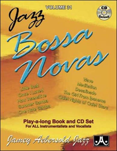 Volume 31 - Bossa Novas - METHODE AEBERSOLD - laflutedepan.com