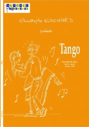 Tango - Christophe Guichard - Partition - laflutedepan.com