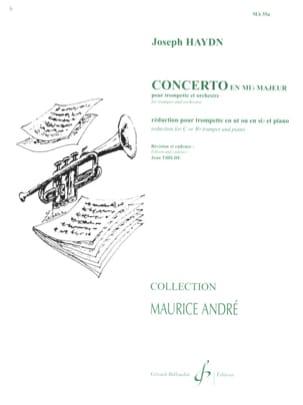 Concerto en Mib HAYDN Partition Trompette - laflutedepan