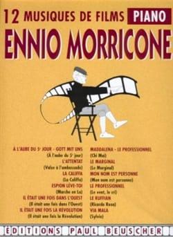 12 Musiques de Films Ennio Morricone Partition laflutedepan