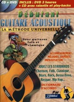 Débutant guitare acoustique Jean-Jacques Rébillard laflutedepan