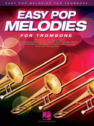 Easy Pop Melodies for Trombone Partition Trombone - laflutedepan