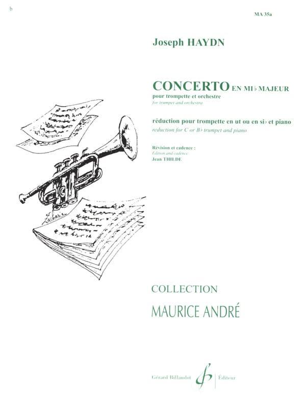 Concerto en Mib - HAYDN - Partition - Trompette - laflutedepan.com