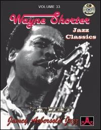 Volume 33 avec 2 CDs - Wayne Shorter METHODE AEBERSOLD laflutedepan