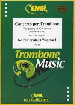 Concerto per trombone Georg Christoph Wagenseil Partition laflutedepan