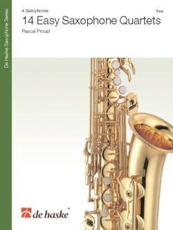 14 Easy Saxophone Quartets Pascal Proust Partition laflutedepan