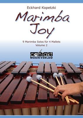 Marimba Joy - Volume 2 Eckhard Kopetzki Partition laflutedepan
