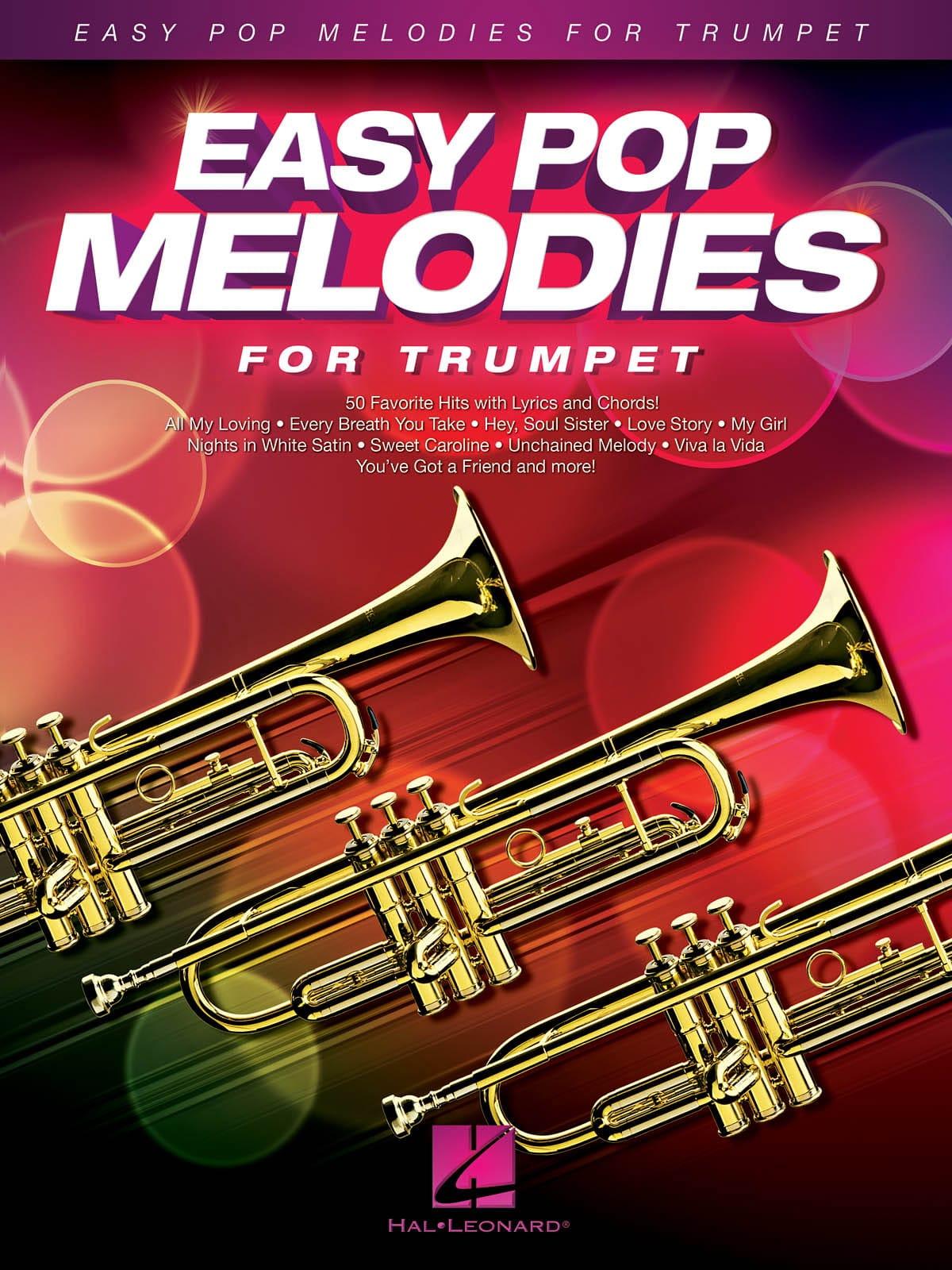 Easy Pop Melodies - Trompette - Partition - laflutedepan.com