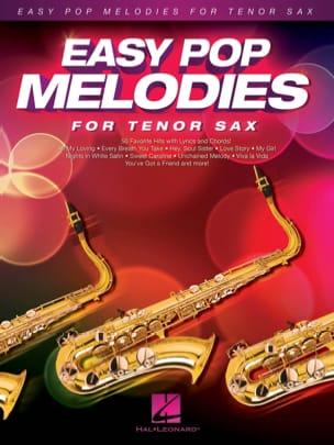 Easy Pop Melodies - Saxophone Ténor Partition laflutedepan