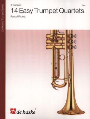 14 Easy Trumpet Quartets Pascal Proust Partition laflutedepan