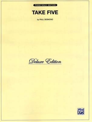 Take Five Paul Desmond Partition Saxophone - laflutedepan