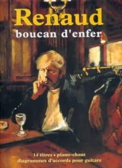 Boucan D' Enfer - 15 titres RENAUD Partition laflutedepan