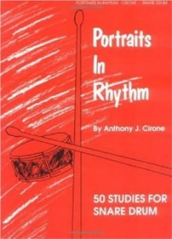 Portraits In Rythm Anthony J. Cirone Partition laflutedepan