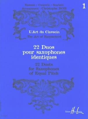 22 Duos Pour Saxophones Identiques Volume 1 Partition laflutedepan
