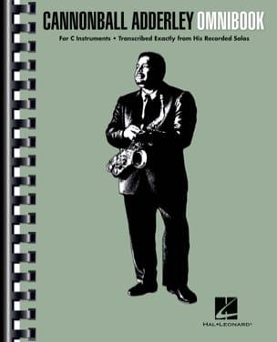 Cannonball Adderley - Omnibook For C Instruments laflutedepan