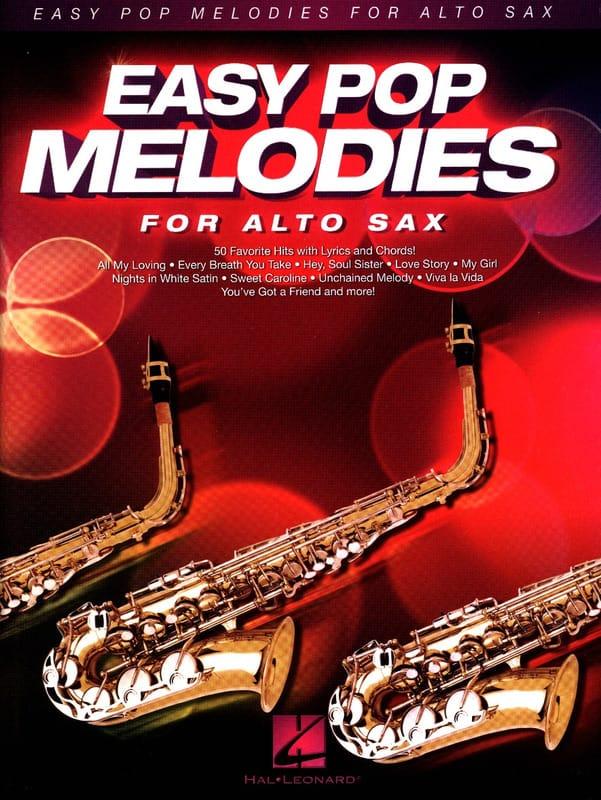 Easy Pop Melodies - Saxophone Alto - Partition - laflutedepan.com