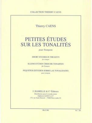Petites études sur les tonalités Thierry Caens Partition laflutedepan