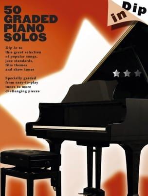 50 Graded Piano Solos - Dip In Partition Pop / Rock - laflutedepan