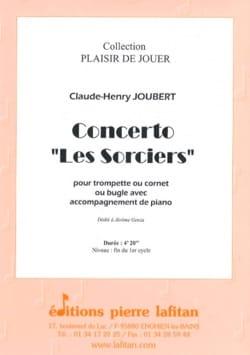 Concerto Les Sorciers Claude-Henry Joubert Partition laflutedepan