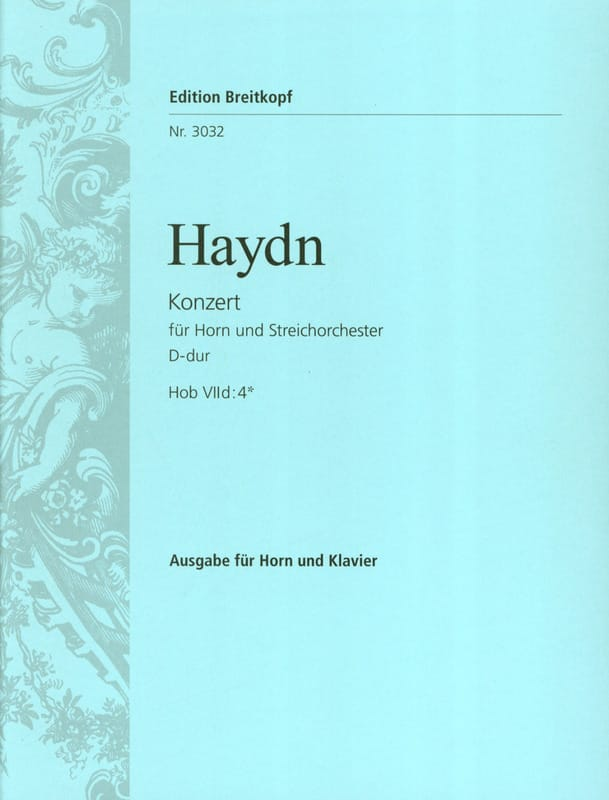 Concerto pour cor N° 2 en ré Majeur - HAYDN - laflutedepan.com