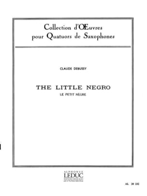 DEBUSSY - The Little Nègre - Partition - di-arezzo.co.uk