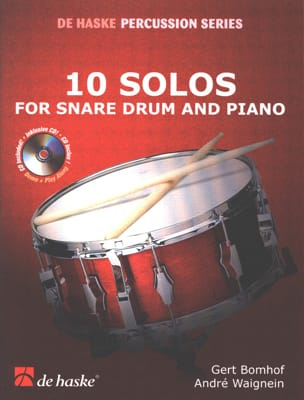 10 Solos For Snare Drum And Piano laflutedepan