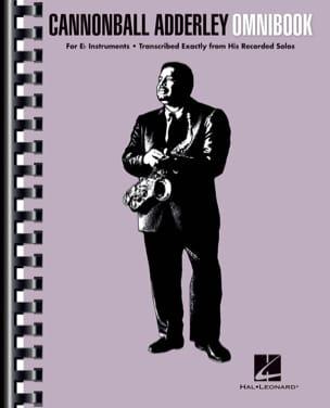 Canonball Adderley - Cannonball Adderley - Omnibook für E-flat Instrumente - Partition - di-arezzo.de