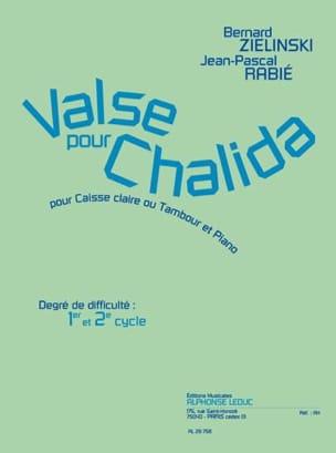 Valse Pour Chalida Zielinski Bernard / Rabié Jean-Pascal laflutedepan