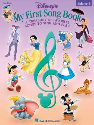 My first songbook volume 3 - Easy Piano DISNEY Partition laflutedepan