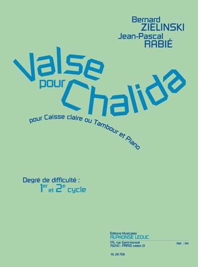 Valse Pour Chalida - laflutedepan.com