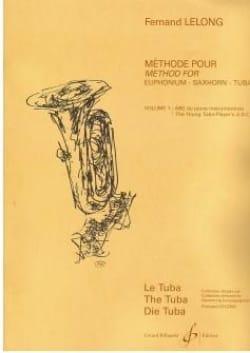 ABC du Jeune Tubiste Volume 1 Fernand Lelong Partition laflutedepan