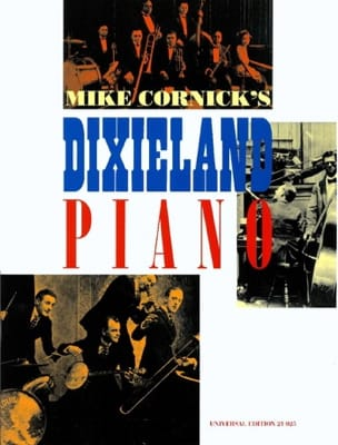 Dixieland Piano Mike Cornick Partition Jazz - laflutedepan