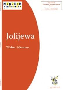 Jolijewa Walter Mertens Partition Quatuors - laflutedepan