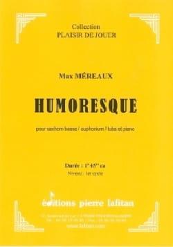 Humoresque Max Méreaux Partition Tuba - laflutedepan
