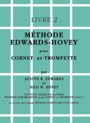 Méthode Livre 2 Edwards - Hovey Partition Trompette - laflutedepan